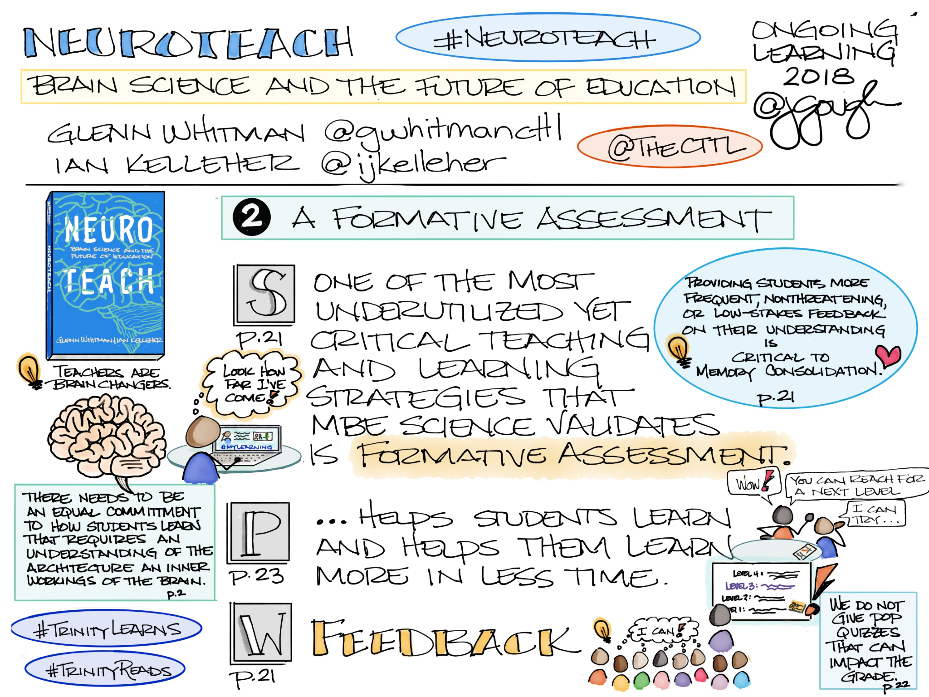 #Neuroteach Brain Science and the Future of Education by @gwhitmancttl @ijkelleher @TheCTTL Chapter 2: A Formative Assessment